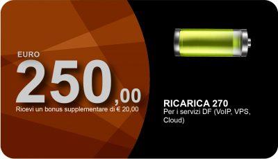 Ricarica 250